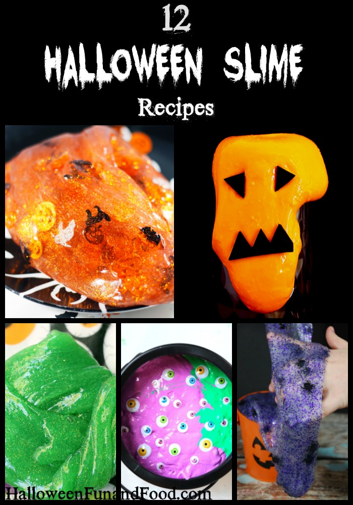 12 Halloween Slime Recipes