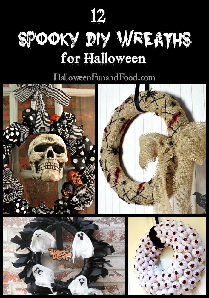 12 Spooky DIY Wreaths for Halloween