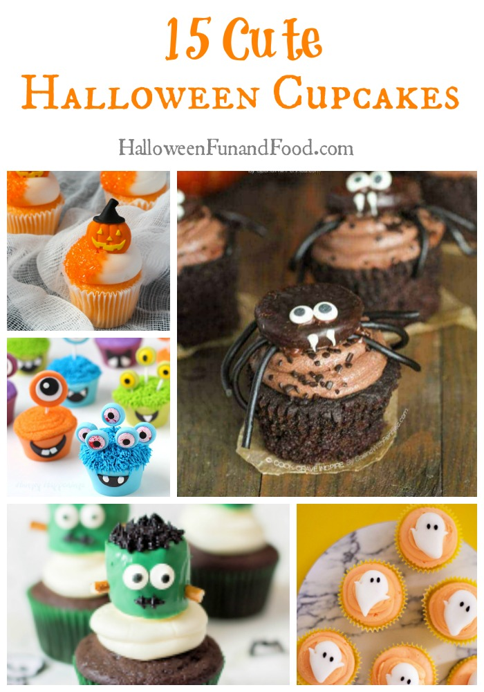 15 Cute Halloween Cupcakes
