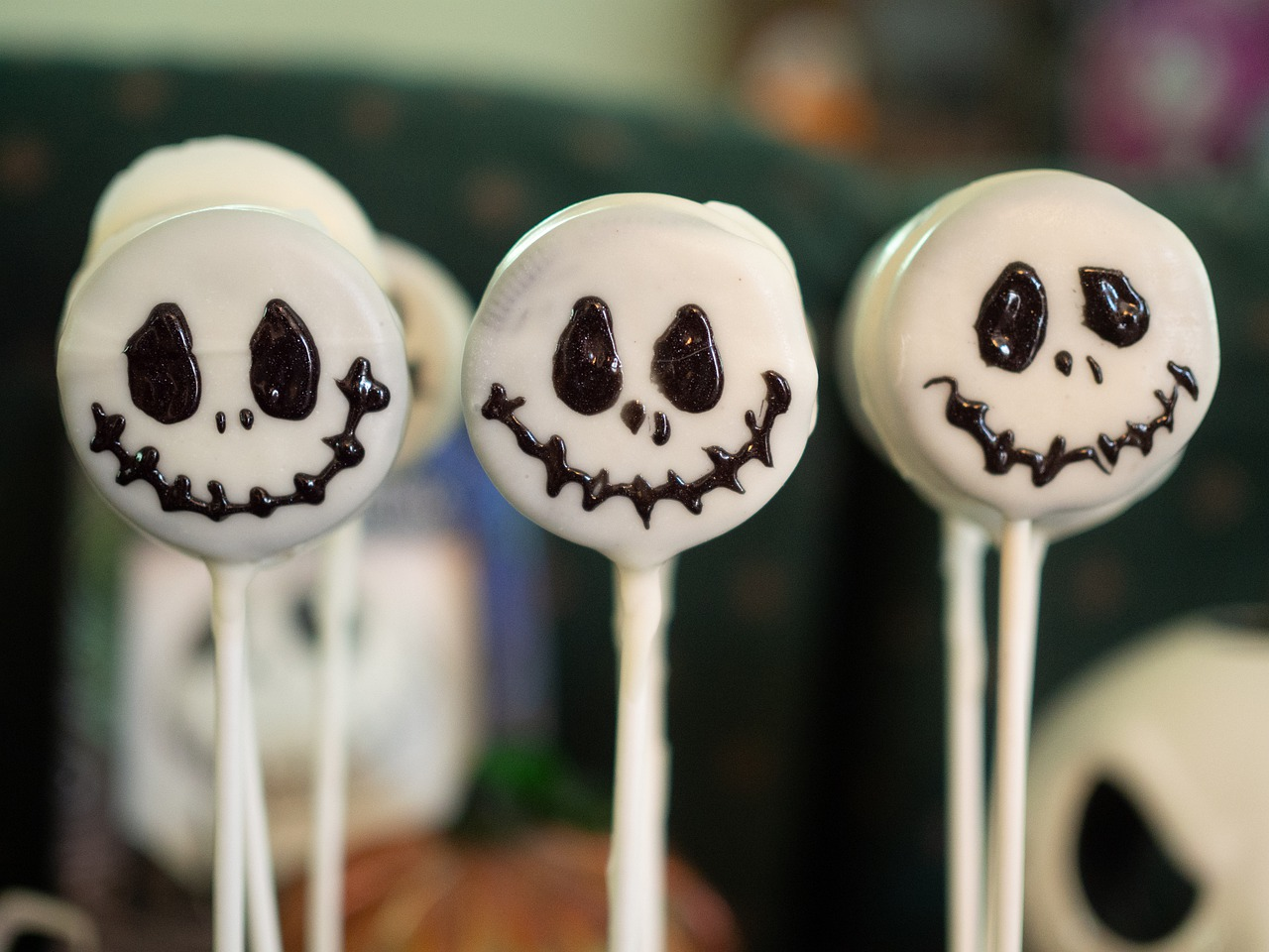 Don't feel like venturing away from home? Have a fun family evening by baking up some Halloween treats like these Halloween cake pops or a spooky spider or witch dessert. Or, go one step further and cook an entire meal around a spooky theme.